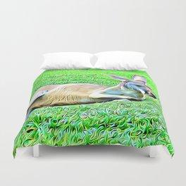 Sleepy Kangaroo Duvet Cover