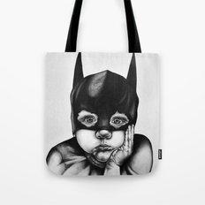 Waiting For a Hero (Bat Boy) Tote Bag