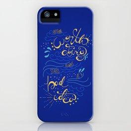 Anything Worth Doing - Nikolai Lantsov iPhone Case