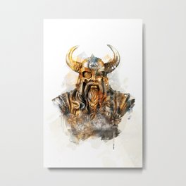Odin - Father of the Gods Metal Print