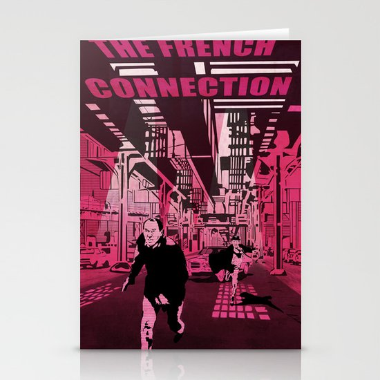 The French connection vector Stationery Cards