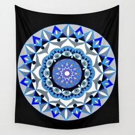 My Peace Mandhala   Secret Geometry   Energy Symbols Wall Tapestry