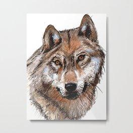 loup y es tu? Metal Print