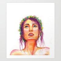 Summer Thoughts Art Print
