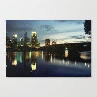 minneapolis Canvas Prints featuring Minneapolis by Tyler Vespa
