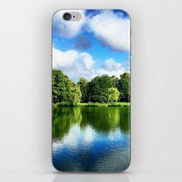 Clear & Blurry  iPhone Skin