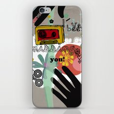 I´ve been missing you iPhone & iPod Skin