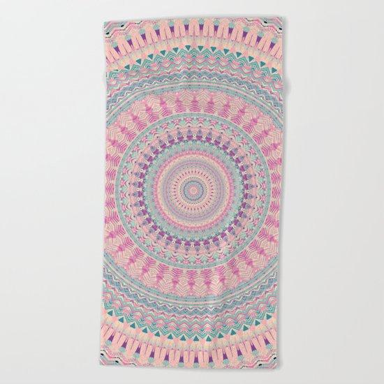 Mandala 491 Beach Towel