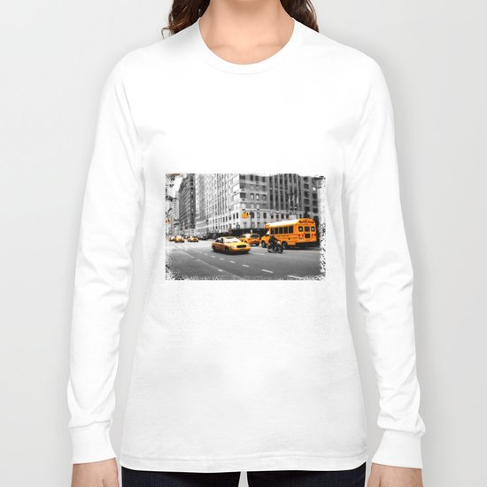 New York Streets Long Sleeve T-shirt