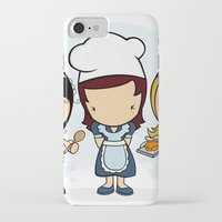 cook iPhone & iPod Cases featuring Cook by Jaqueline Teixeira
