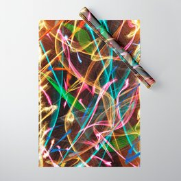 Fireworks Wrapping Paper