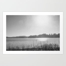 INVERNESS VII (B+W) Art Print