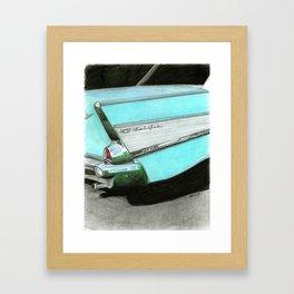 57 Chevy #5 Framed Art Print