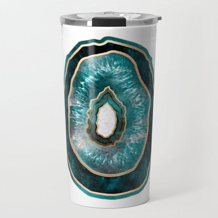 Agate - Turquoise Travel Mug