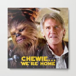 Chewie... Metal Print