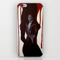 skyfall iPhone & iPod Skins featuring Skyfall by Caroline Ward