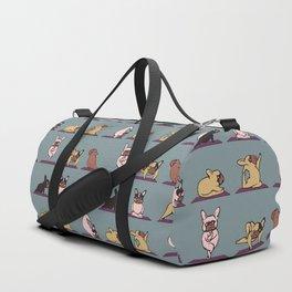 Frenchie Yoga Duffle Bag