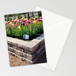 "Muscogee (Creek) Nation - Honor Heights Park Azalea Festival, Tulip ""Critical Mass"" Stationery Cards"