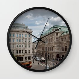 Albertina Square Vienna Wall Clock
