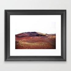 Rainbow rocks, Iceland Framed Art Print
