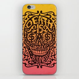 Death is a Lonely Business iPhone Skin