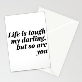 my darling, but so are you Stationery Cards