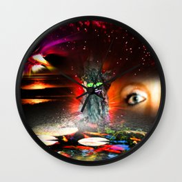 Our World Is A Magic - Moments! 2 Wall Clock