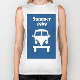 Summer 1969 - blue Biker Tank