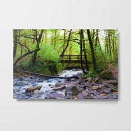 Gruff Bridge Metal Print