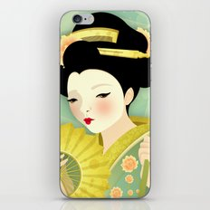 Geisha: Olive iPhone & iPod Skin