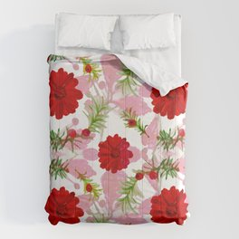 Berries and Boughs II Comforters