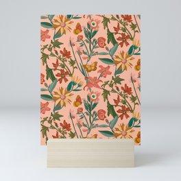 Mellow Yellow Collection- Bloom & Butterflies Mini Art Print