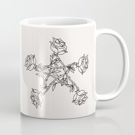 Rose Pentacle Coffee Mug