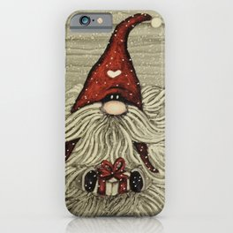 """""""Tomten Elmer"""" with a big beard. iPhone Case"""
