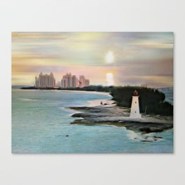 The Islands Of The Bahamas - Nassau Paradise Island Canvas Print