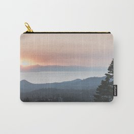 Mountain Top View Carry-All Pouch