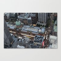 sydney Canvas Prints featuring Sydney  by Cynthia del Rio
