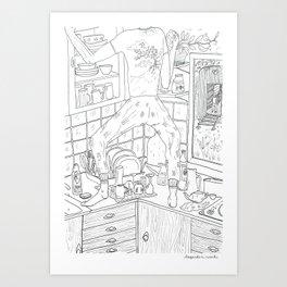 beegarden.works 014 Art Print