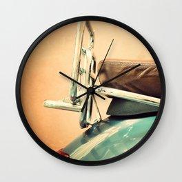 Vespa in Italy Wall Clock