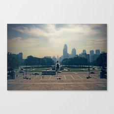 ROCKYS VIEW Canvas Print