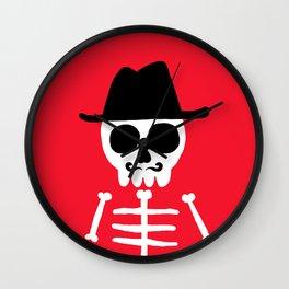 El Skeletor Wall Clock