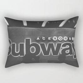 Subway Vibes Rectangular Pillow