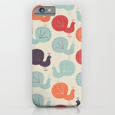 Peacock Pattern Slim Case iPhone 6s