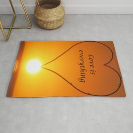 Love is everything Rug