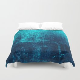 Sea Turquoise Paper Duvet Cover