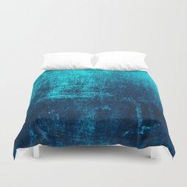 Sea Turquoise Paper Duvet Cover