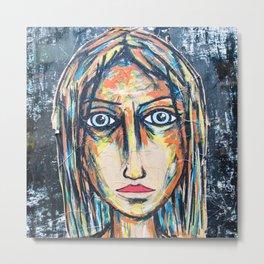 art street portrait Metal Print