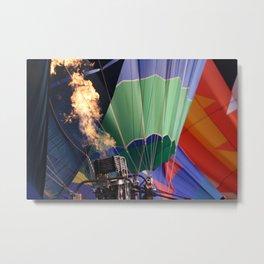 Balloon rise Metal Print
