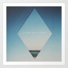Journey High Art Print