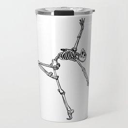 Ballet Skeleton Travel Mug